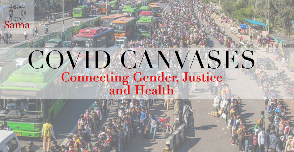 Sama's engagement with Covid-19, connecting gender, health and justice